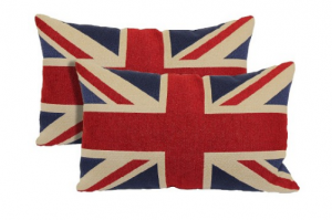 BritBox's 2016 Xmas Gift List for Brits - Union Jack Pillows